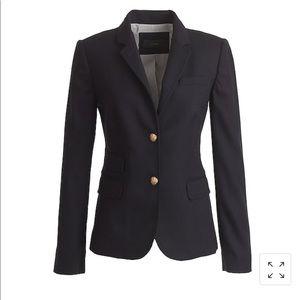 JCrew schoolboy blazer, navy, size 8T, tall.